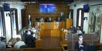 11ª sessão ordinária debateu contenção ao Coronavírus