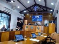 25ª sessão ordinária foi marcada por pedido de investimento em esportes e convite para audiência pública