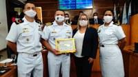 Aniversário de 70 anos Colégio Naval é celebrado com homenagem na Câmara