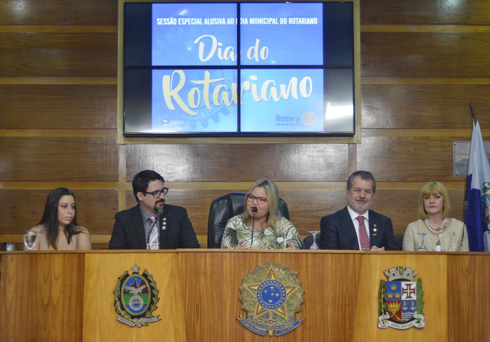 Câmara celebra Dia Municipal do Rotariano