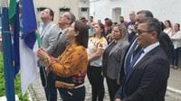 Câmara celebrou Dia da Bandeira com cerimônia de hasteamento