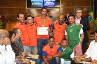 Câmara concede Medalha do Mérito Esportivo