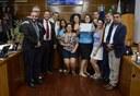 Câmara entrega Moção de Aplausos à Comissão Divulgadora do Autismo (CDA)