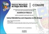 Câmara fará audiência para debater impacto de usina hidrelétrica no Rio Bracuí