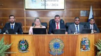 Câmara fez sessão de posse da nova legislatura e eleição da mesa diretora