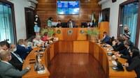Câmara fez sessão extraordinária para participação em consórcio de vacinas