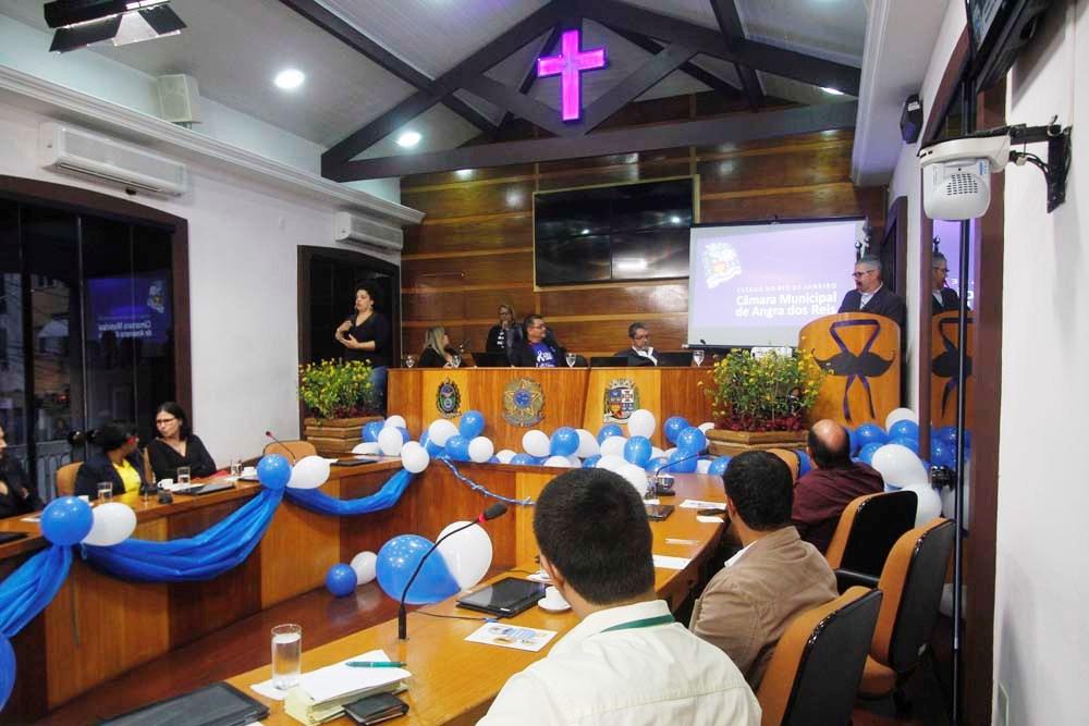 Câmara finaliza Novembro Azul com palestra