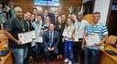 Câmara homenageou profissionais de educação física em sessão solene