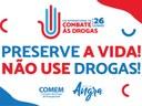 Câmara lembra dia internacional de combate às drogas
