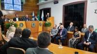Câmara Municipal celebrou dia do médico com sessão solene