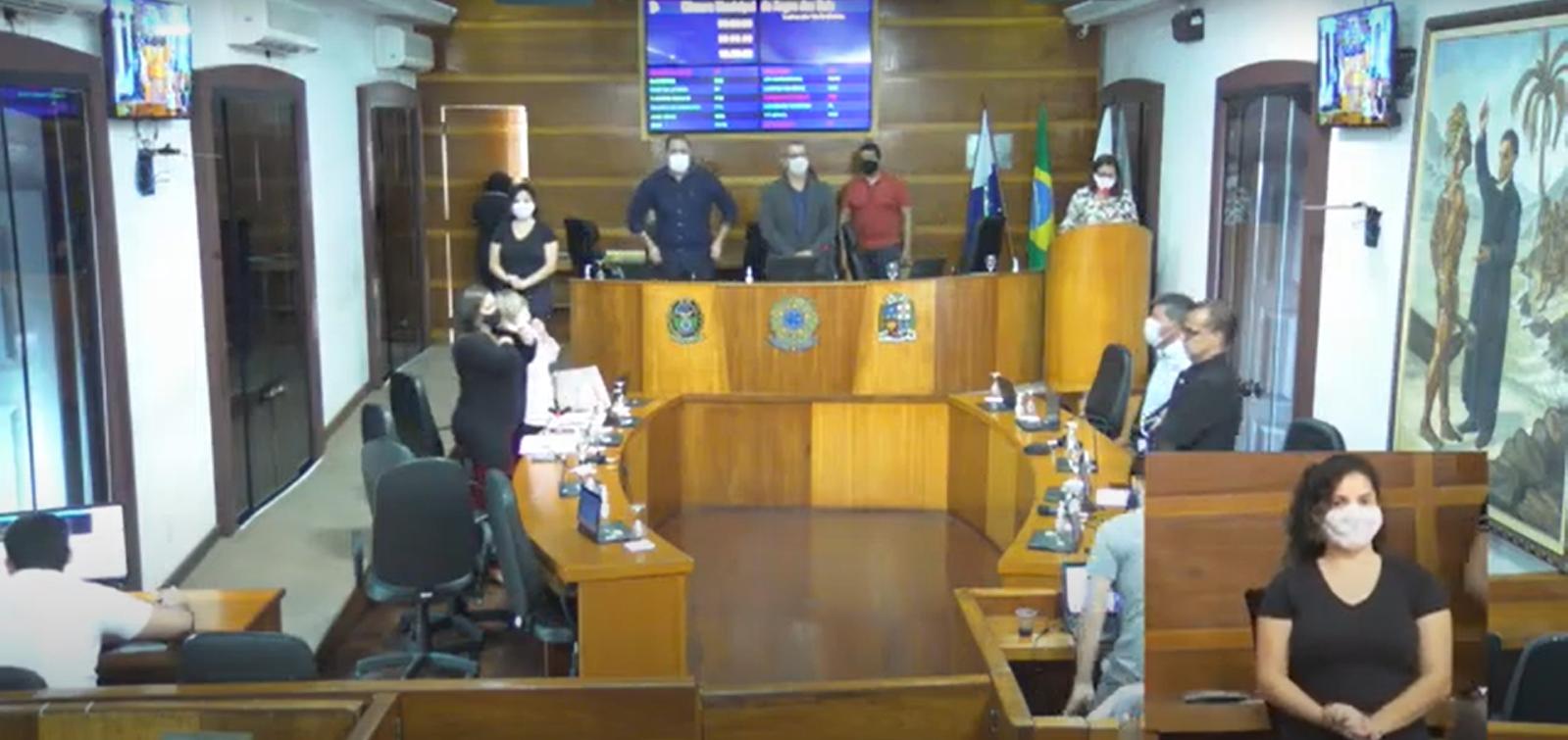 Câmara realizou 16ª sessão ordinária