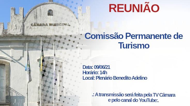 Comissão de turismo se reunirá na próxima quarta