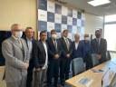 Comitiva de vereadores da Câmara esteve em Brasília para agenda com o Ministério da Infraestrutura