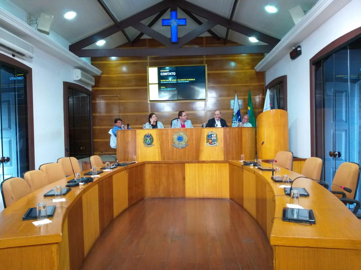 Desenvolvimento econômico e geração de empregos foram debatidos na Câmara