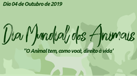 Dia mundial dos animais será celebrado com programação especial promovida pela Câmara