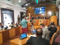 Discussão sobre seguro para obras públicas marcou sexta sessão ordinária de 2019
