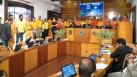 Homenagem a defesa civil de Angra marca oitava sessão ordinária