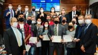 Homenagem à polícia civil marcou 19ª sessão