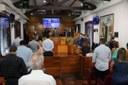 Homenagens às vítimas da covid-19 norteou a sessão de aniversário da cidade