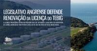 Legislativo Angrense defende renovação da licença do Tebig