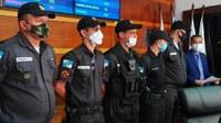 Moção de aplausos para polícia militar marcou 11ª sessão ordinária
