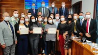 Moção de aplausos para profissionais da saúde foi destaque da 26ª sessão