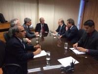 LEGISLATIVO PARTICIPA DE REUNIÃO NO MINISTÉRIO DE MINAS E ENERGIA