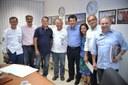 Parlamentares integram comitiva e recebem Ministro de Minas e Energia