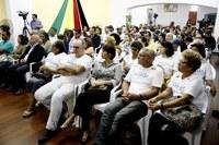 PERSONALIDADES SÃO HOMENAGEADAS NA SESSÃO ALUSIVA À CULTURA