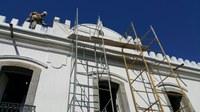 Plenário da Câmara passa por obras de reparo e manutenção