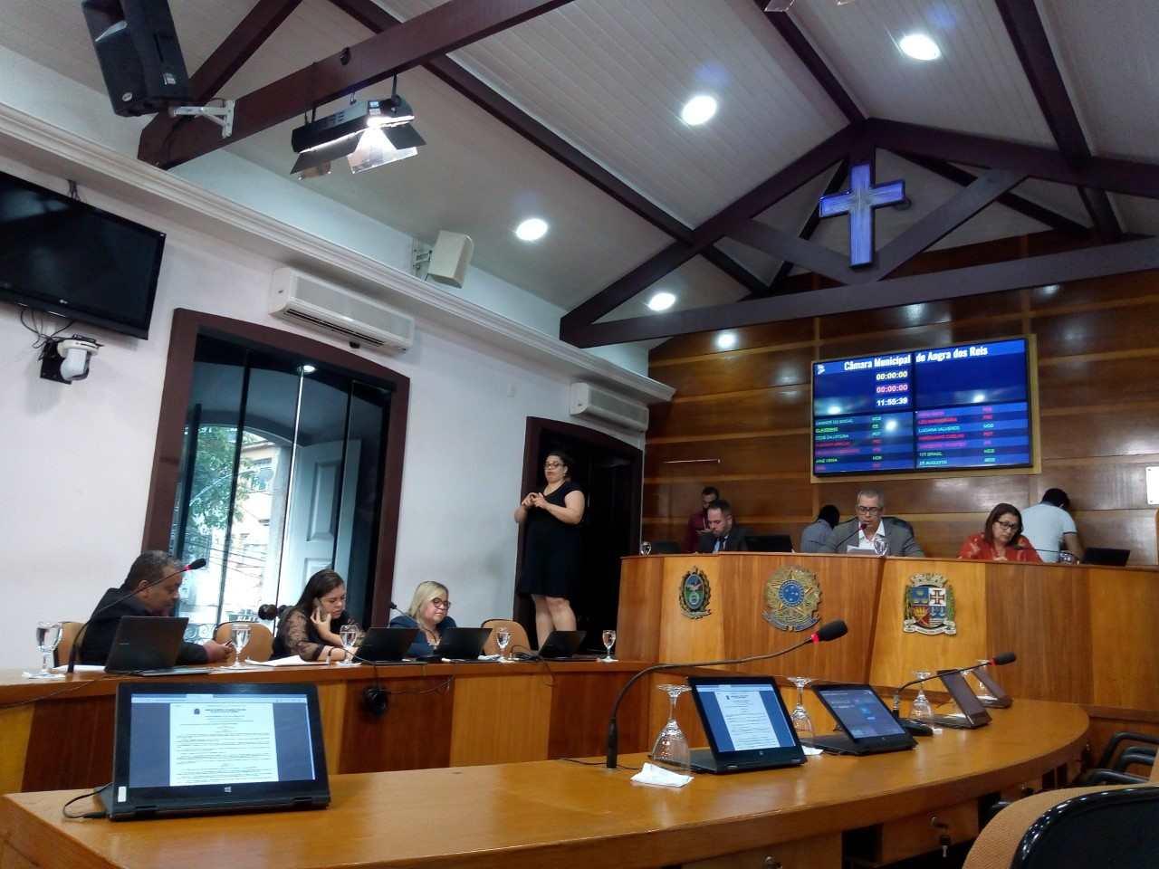Solicitação para novo polo do Conselho Tutelar em Angra foi principal assunto da 30ª sessão ordinária
