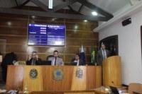 Vereador Claudinho é empossado no Plenário