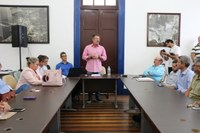 Vereadores estiveram em apresentação de consultoria contratada para auxiliar na captação de investimentos